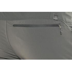 Haglöfs Lite Hybrid lange broek Heren grijs